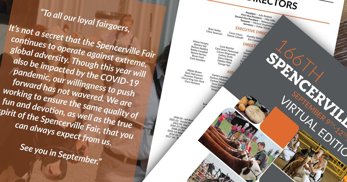 Spencerville Fair Fair Book