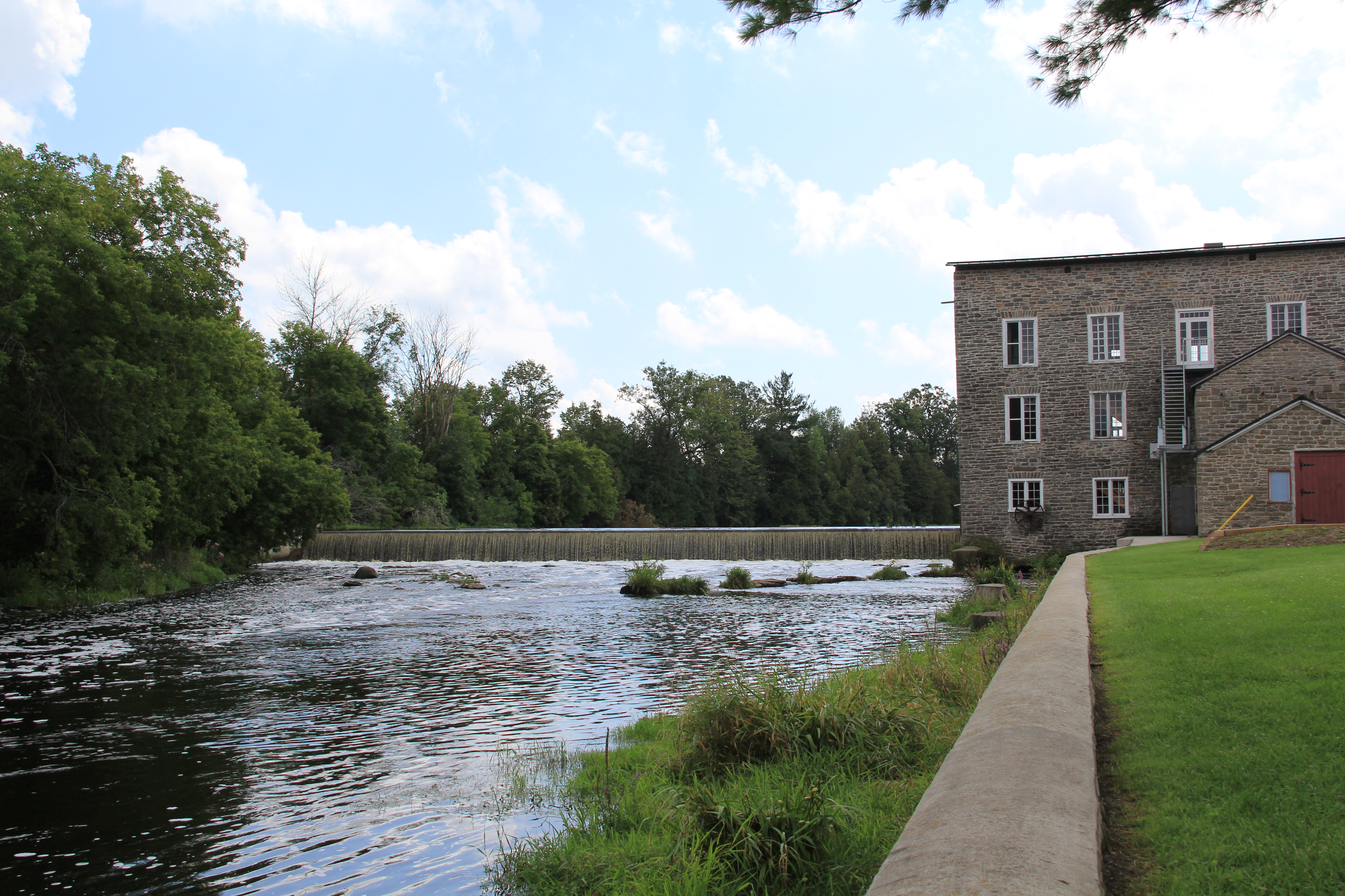 Spencerville Mill and Museum along the South Nation River